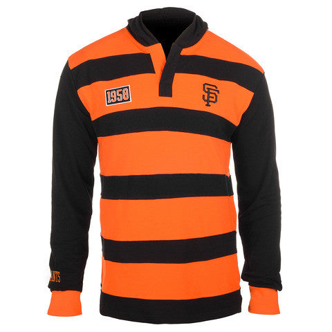 San Francisco Giants Official MLB Cotton Rugby Hoody by Klew