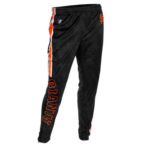 San Francisco Giants Official MLB Men's Tapered Zip Up Pants