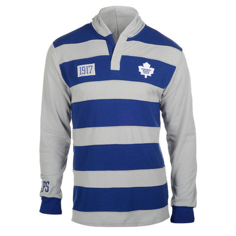 Toronto Maple Leafs Official NHL Cotton Rugby Hoody by Klew