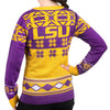 "LSU Tigers Women's Official NCAA ""Big Logo"" V-Neck Sweater by Klew"