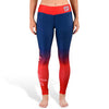 Washington Nationals Womens Official MLB Gradient Print Leggings