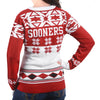 "Oklahoma Sooners Women's Official NCAA ""Big Logo"" V-Neck Sweater by Klew"