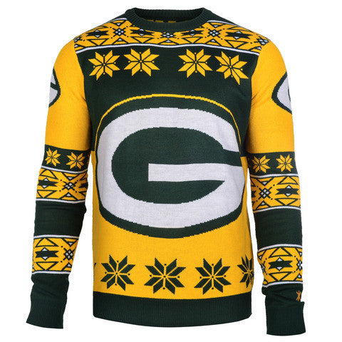 "Green Bay Packers Official Men's NFL ""Big Logo"" Sweater"