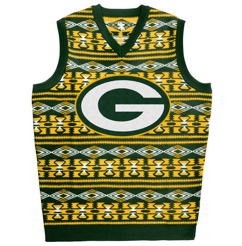 "Green Bay Packers Official NFL ""Ugly Sweater"" - Choose Your Style"