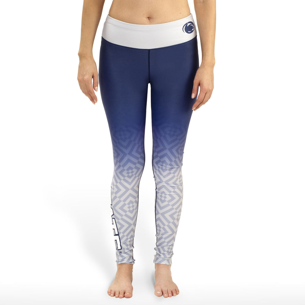 Penn State Nittany Lions Womens Official NCAA Gradient Print Leggings