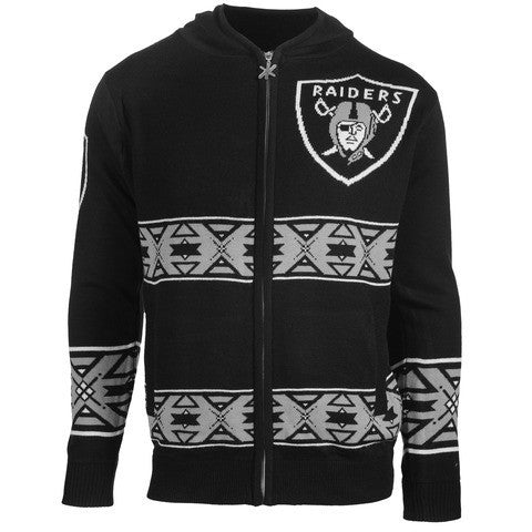 Oakland Raiders Official NFL Ugly Sweater - Choose your Style!