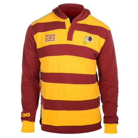 Washington Redskins Official NFL Cotton Rugby Hoody by Klew