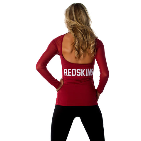 "Washington Redskins Women's Official NFL ""Wildkat"" Top"