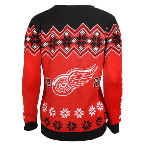 Detroit Red Wings Women's Official NHL Cardigan Sweater