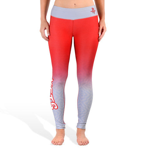 Houston Rockets Womens Gradient Official NBA Leggings