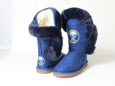 "Buffalo Sabres Women's Cuce Official NHL ""Champions"" Boots"
