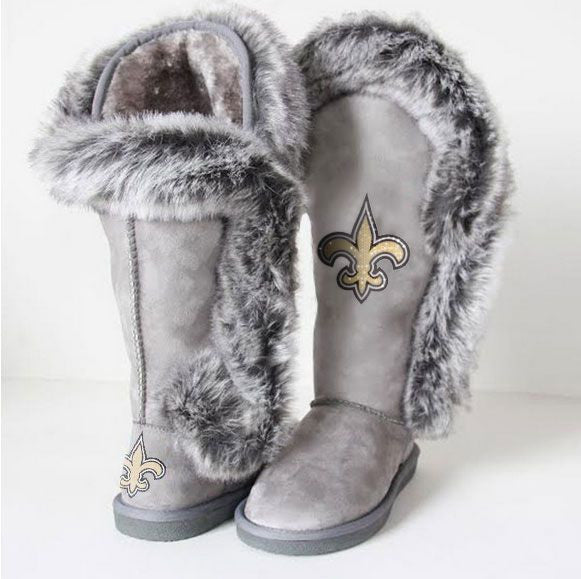 "New Orleans Saints Women's Cuce Official NFL ""Winner"" Boots"