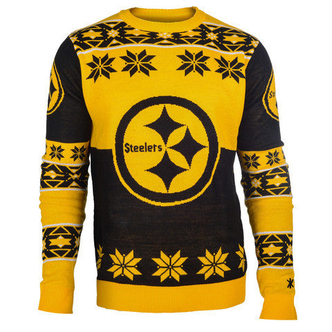 "Pittsburgh Steelers Official Men's NFL ""Big Logo"" Sweater"