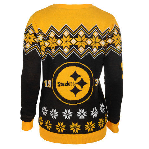 Pittsbugh Steelers Women's Official NFL Cardigan Sweater