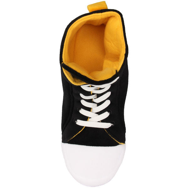 Boston Bruins Men's Official NFL Puffy Sneaker Slipper