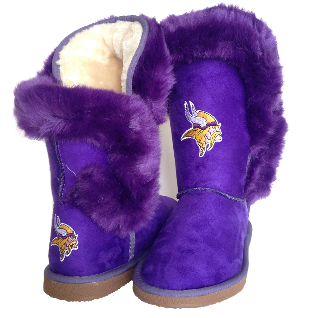 "Minnesota Vikings Women's Cuce Official NFL ""Champions"" Boots"