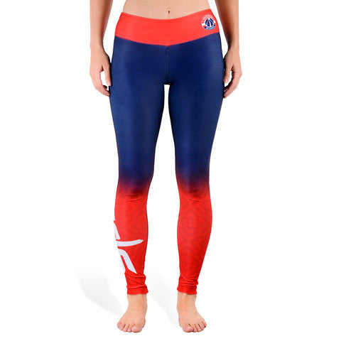 Washington Wizards Womens Gradient Print Leggings