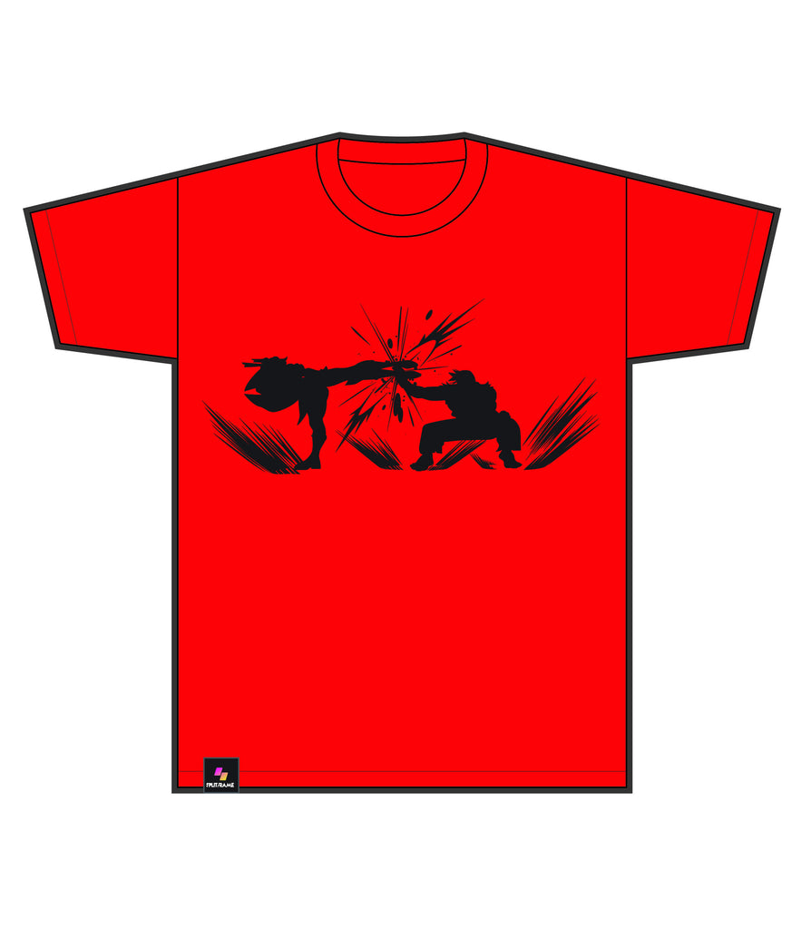 PARRY SILHOUETTE TEE | LEGENDS EDITION (Red Tee)