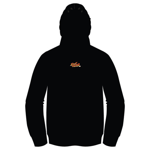 Super Street Fighter II X (TURBO INSTINCTS) PULLOVER Hoodie [Front Print]