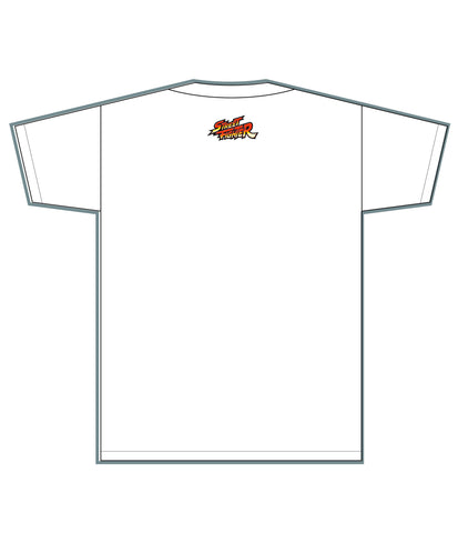 RYU (Invincible Shoryuken) White Tee