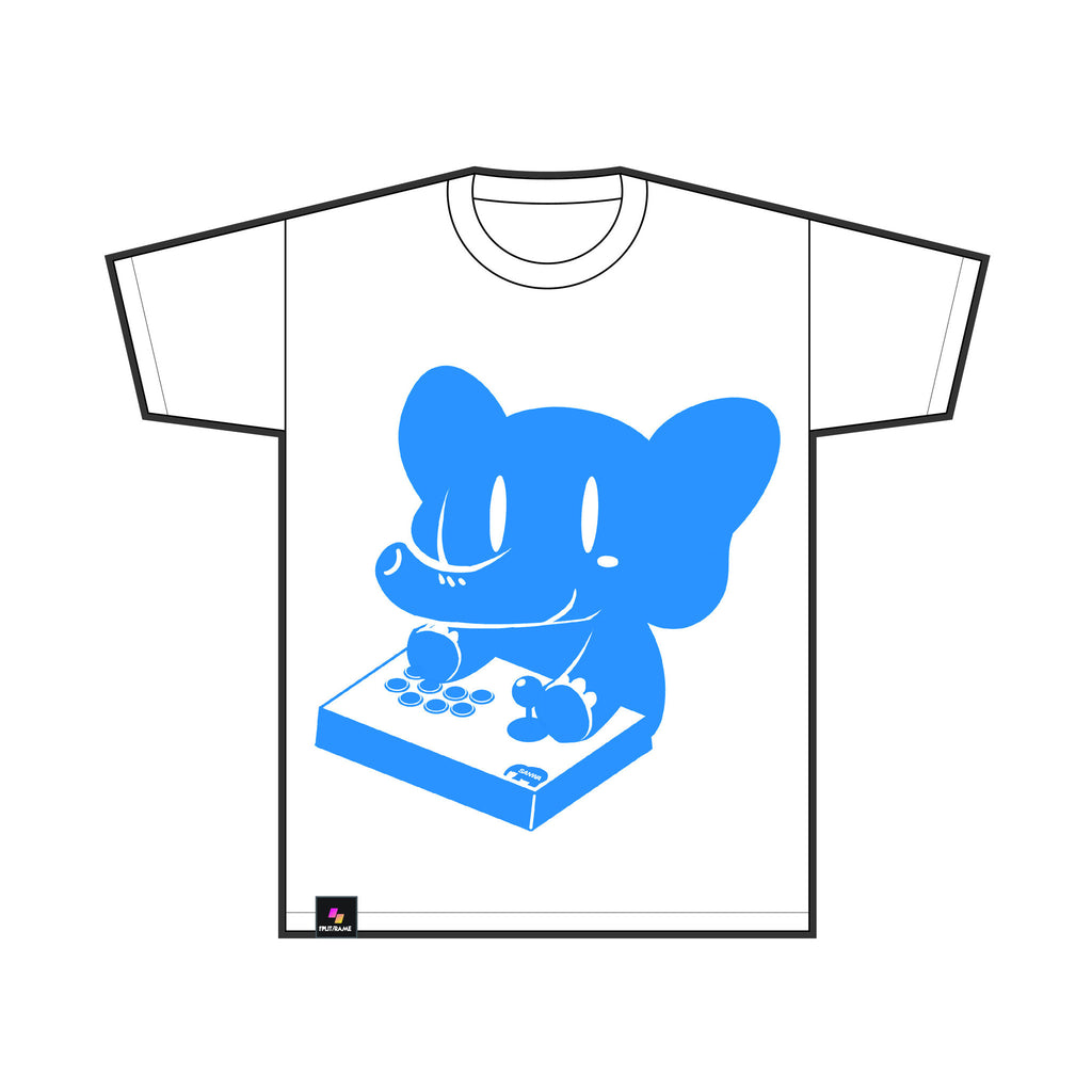 SANWA DENSHI ELEPHANT BUTTON MASHER TEE