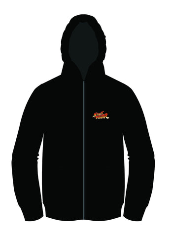 Street Fighter Alpha (Zero) 2 Silhouette Zip-up Hoodie
