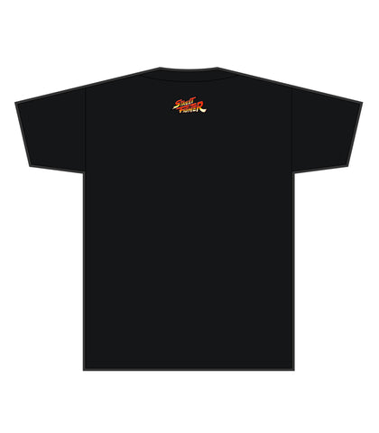 Street Fighter Alpha 2 Silhouette (Black Tee)