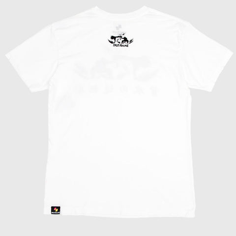 PARRY SILHOUETTE TEE (WHT)