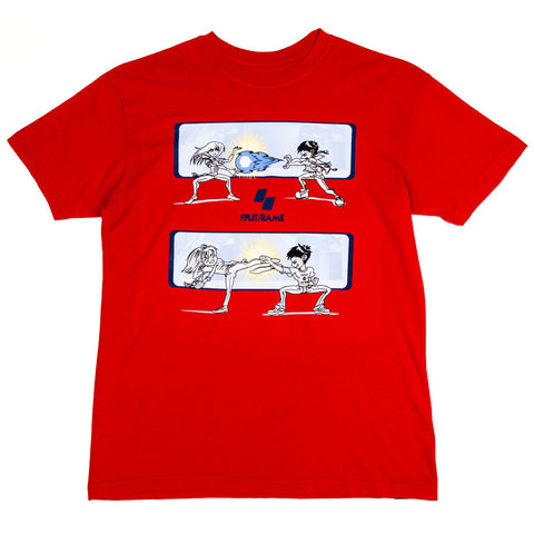 SPLITFRAME SCENES TEE (RED)