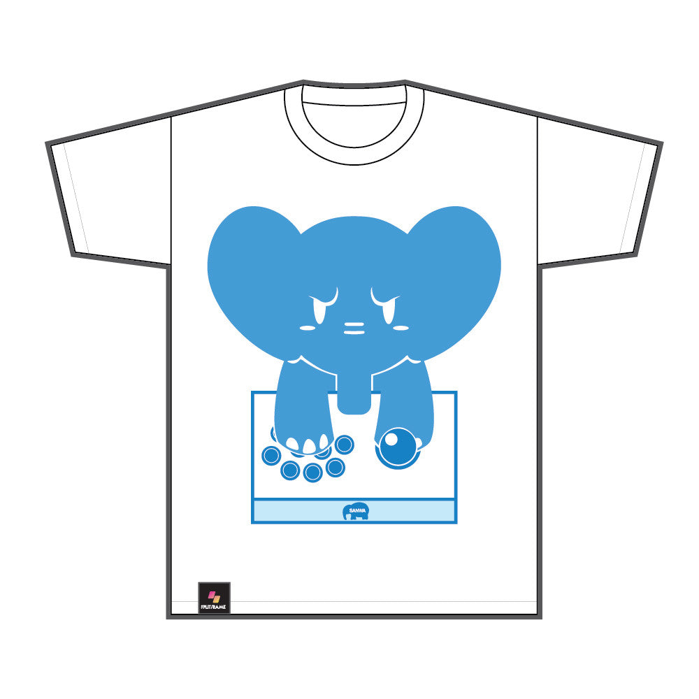 SANWA DENSHI SEQUEL: MAD DOG TEE (WHITE)
