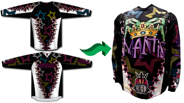 TEAM JERSEYS! If you would like to have a custom logo designed for your  jersey 61df1847c