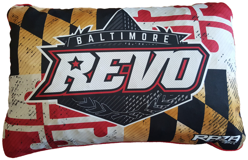 Baltimore REVO Team Pillow - RazaLife - Pillow - RazaLife - RazaLife - paintball - custom - jerseys - sports - uniforms - woodsball - softball - baseball - basketball - soccer