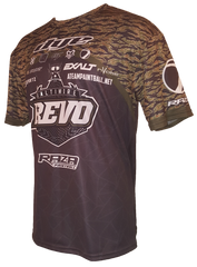 Revo Tiger Stripe Tech Shirt