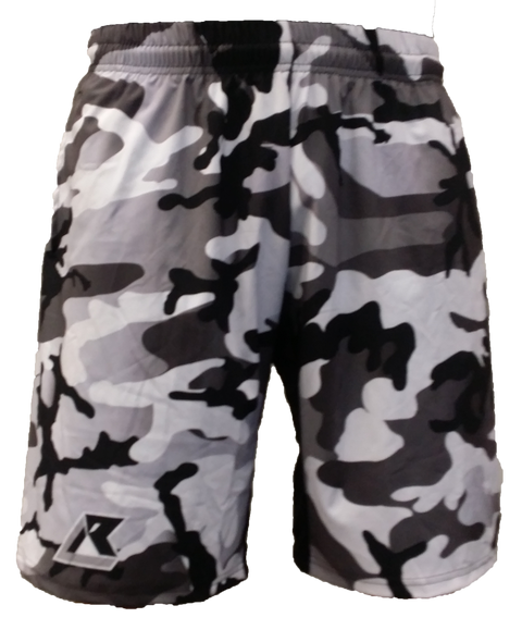 Urban Woodland Camo Shorts - IN STOCK, ON SALE