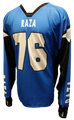 Blue Silver Black TM2 Jersey - RazaLife - TM2 Jersey - RazaLife - RazaLife - paintball - custom - jerseys - sports - uniforms - woodsball - softball - baseball - basketball - soccer