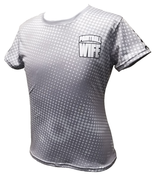 Paintball Wife Grey Tech Shirt