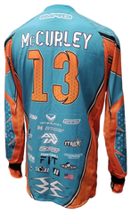 ac Dallas 2018 Teal/Orange - RazaLife -  - RazaLife - RazaLife - paintball - custom - jerseys - sports - uniforms - woodsball - softball - baseball - basketball - soccer