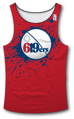 619ers Tank Top - RazaLife - Tech Tank Top - RazaLife - RazaLife - paintball - custom - jerseys - sports - uniforms - woodsball - softball - baseball - basketball - soccer