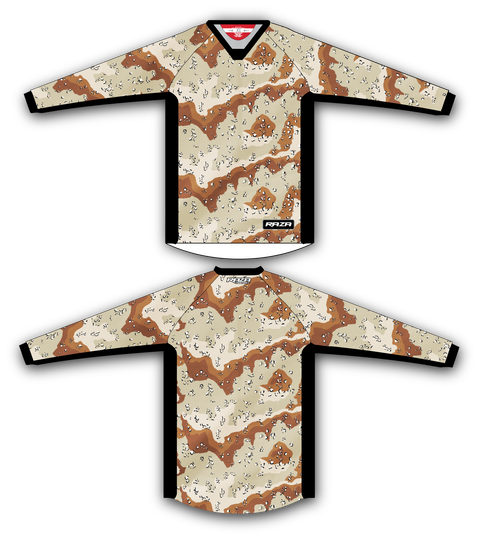 Desert 6 Color TM2 Jersey - RazaLife - TM2 Jersey - RazaLife - RazaLife - paintball - custom - jerseys - sports - uniforms - woodsball - softball - baseball - basketball - soccer