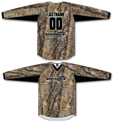 Aftershock Camo Throwback TM2 Jersey - RazaLife - TM2 Jersey - RazaLife - RazaLife - paintball - custom - jerseys - sports - uniforms - woodsball - softball - baseball - basketball - soccer