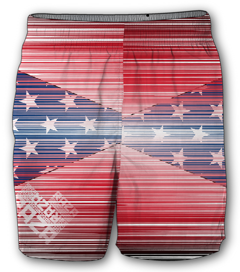 Alter Shorts America - RazaLife - Tech Shorts - Razalife - RazaLife - paintball - custom - jerseys - sports - uniforms - woodsball - softball - baseball - basketball - soccer