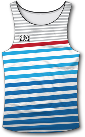 Angle Stripe Patriot Tank Top