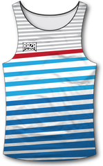 Angle Stripe Patriot Tank Top - RazaLife - Tech Tank Top - RazaLife - RazaLife - paintball - custom - jerseys - sports - uniforms - woodsball - softball - baseball - basketball - soccer
