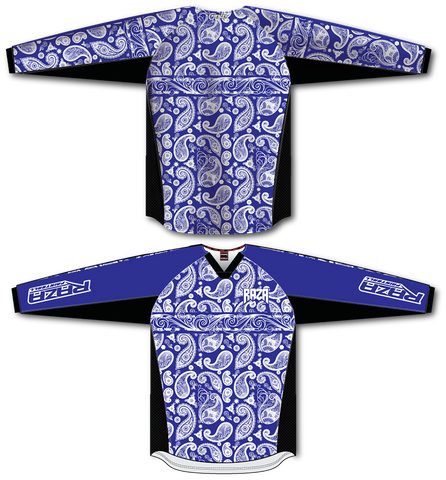 Bandana Blue/White TM2 Jersey