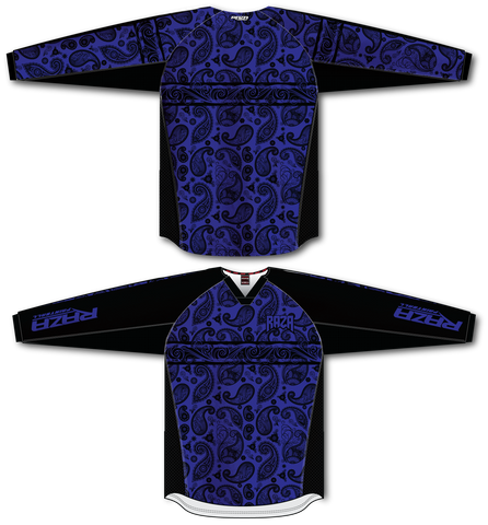Bandana Blue/Black TM2 Jersey