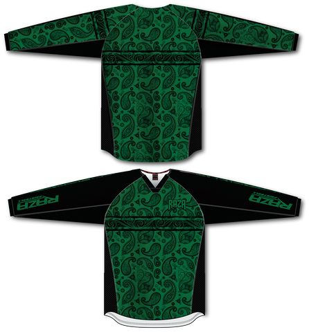 Bandana Green/Black TM2 Jersey