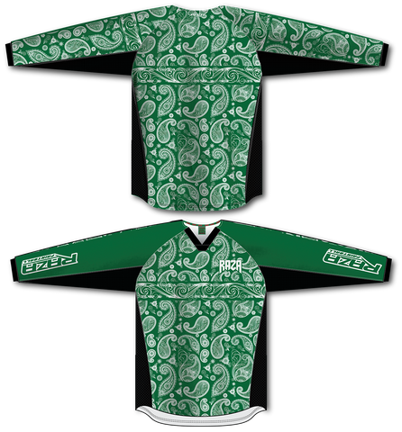 Bandana Green/White TM2 Jersey