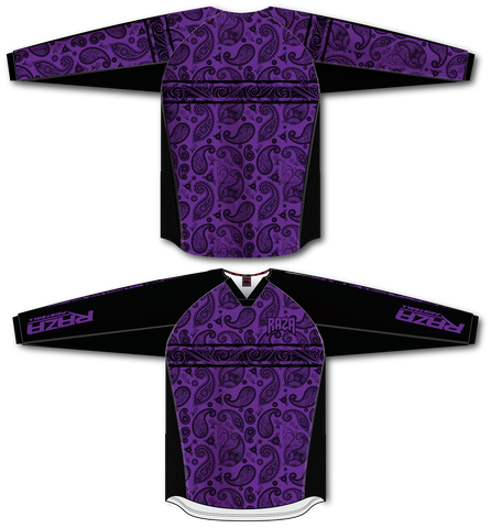 Bandana Purple/Black TM2 Jersey