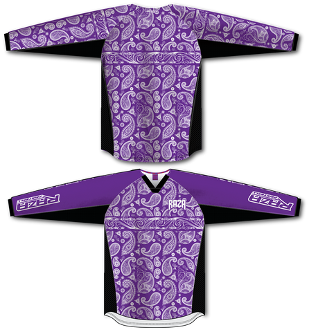 Bandana Purple/White TM2 Jersey