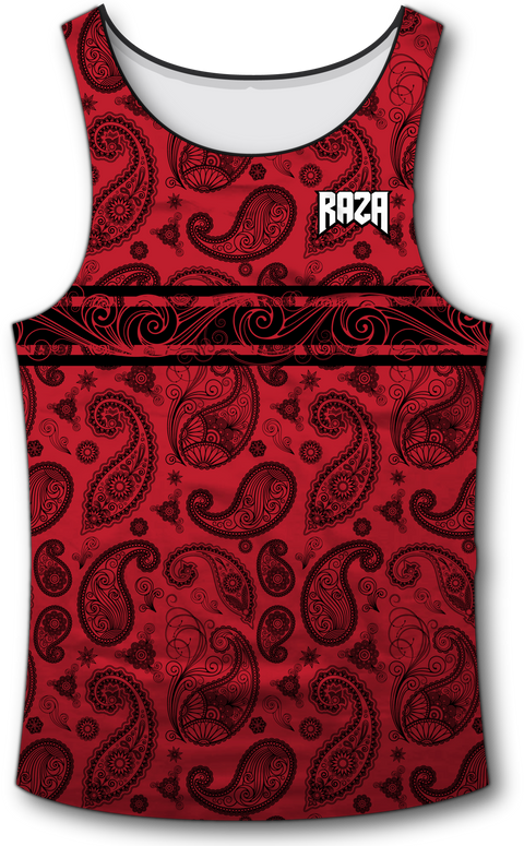 Bandana Tank Top - RazaLife - Tech Tank Top - RazaLife - RazaLife - paintball - custom - jerseys - sports - uniforms - woodsball - softball - baseball - basketball - soccer
